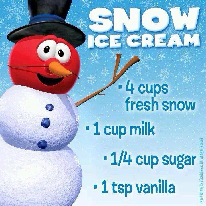 Snow day make some snow ice cream snowday icecream snowicecream do you have snow where you live if so youll want to find indoor activities for your kids right how about making some classic snow ice cream ccuart Gallery