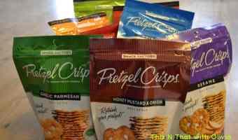 Pretzel Crisps Review! #Review #Snack #Healthy #Pretzel