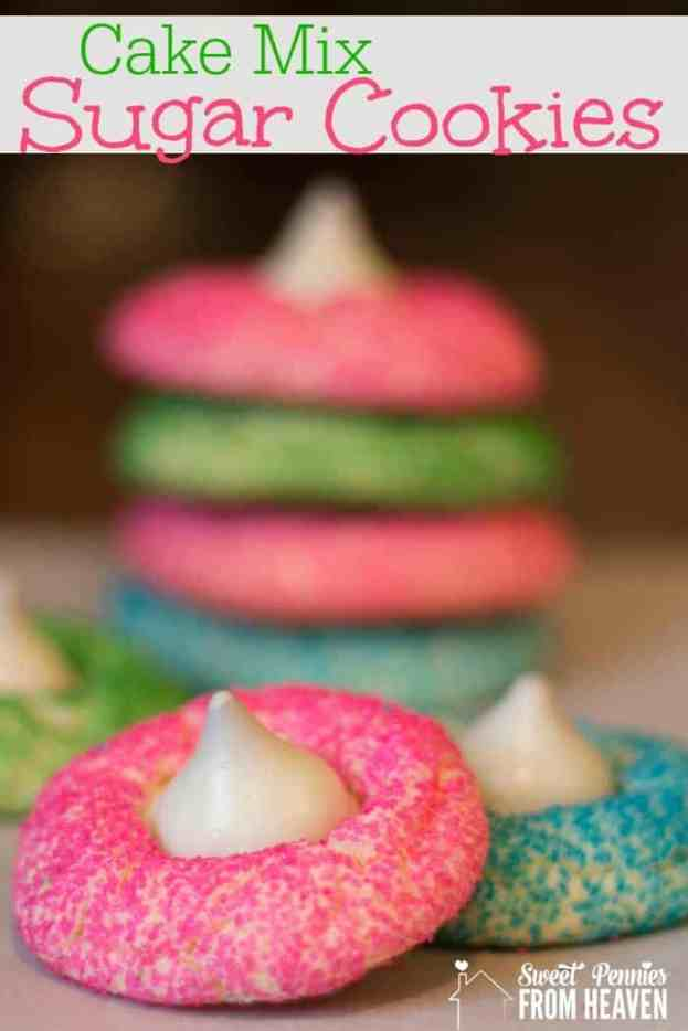Cake Mix Sugar Cookies