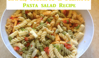 Simple Pasta Salad! #12daysof