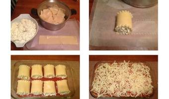 Simple Lasagna Rollups! #12daysof