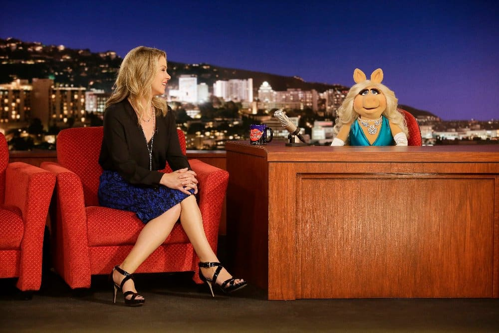 Late Night with Miss Piggy