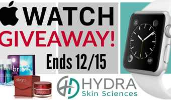 Enter to win an Apple Watch