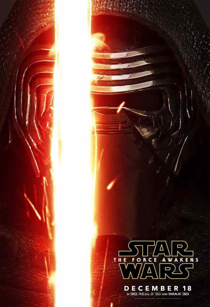 Kylo Ren Star Wars Poster! Star Wars: The Force Awakens in theaters 12/18/15