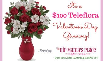 Win $100 to Teleflora