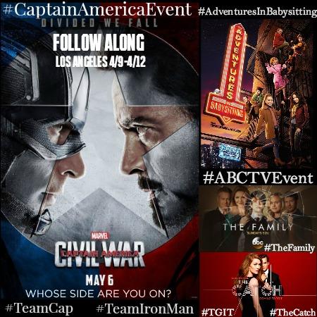 #CaptainAmericaEvent