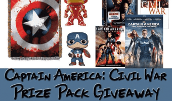 Captain America Civil War Prize Giveaway
