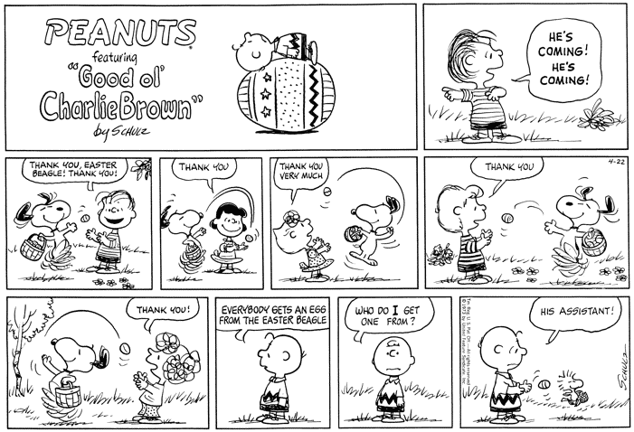Charlie Brown Easter Beagle