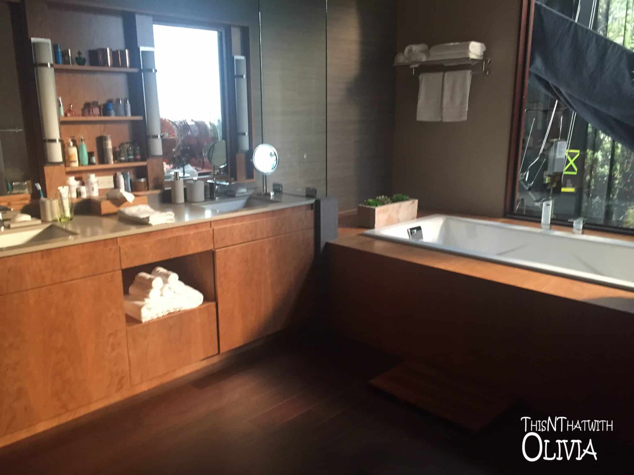 Bathroom on the set of The Catch