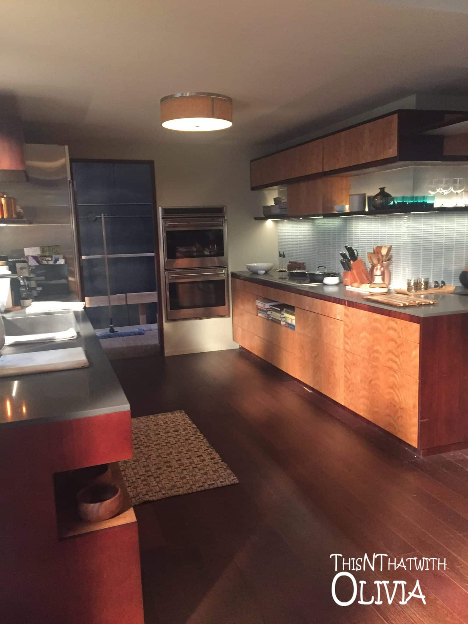 Kitchen on the set of The Catch