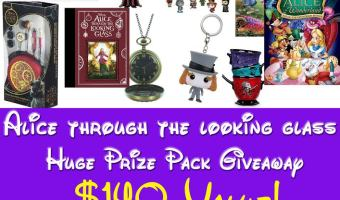 Alice Through the Looking Glass Giveaway!! #ThroughTheLookingGlass
