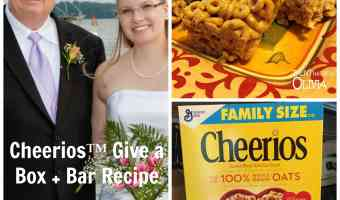 Giving the Gift of Cheerios™ + Cheerios™ Bars Recipe! #GiveABox