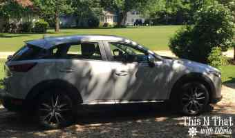 2016 Mazda CX-3 AWD Grand Touring Review #DriveMazda | ThisNThatwithOlivia.com