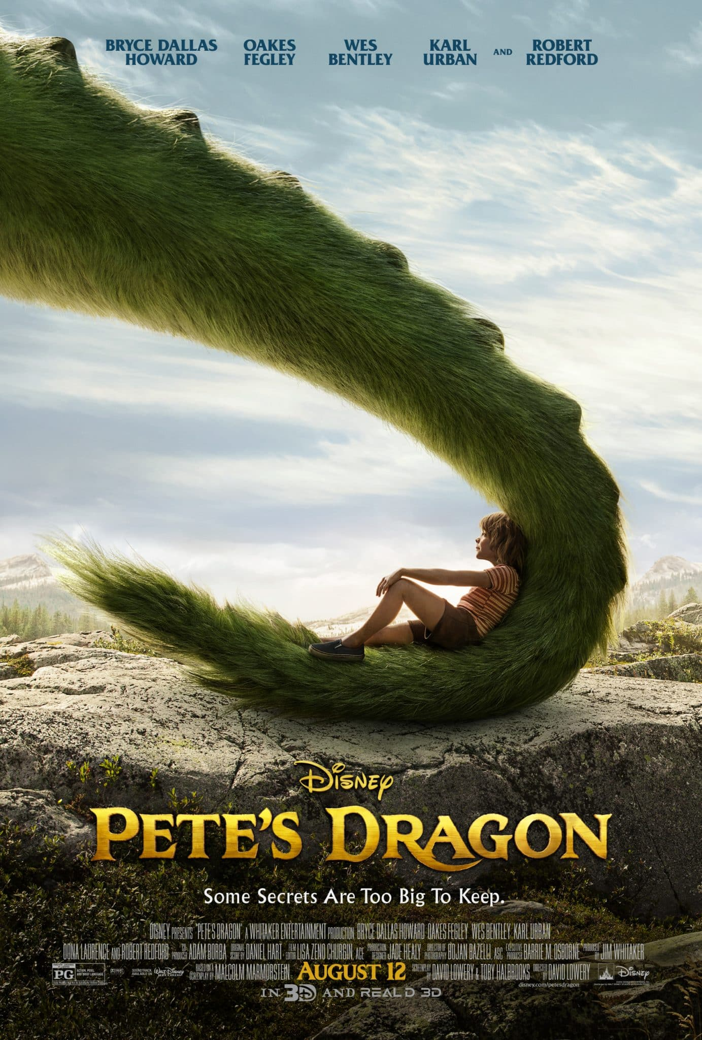 Disney's Pete's Dragon in Theaters August 12 | ThisNThatwithOlivia.com #PetesDragon
