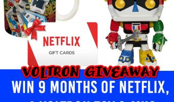 Win a Voltron Prize Pack! #Voltron (Ends 7/14)