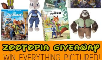 Zootopia Home Release Giveaway | ThisNThatwithOlivia.com