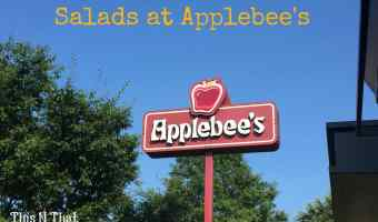 NEW Wood Fired Grill Salads at Applebee's @Applebees | ThisNThatwithOlivia.com