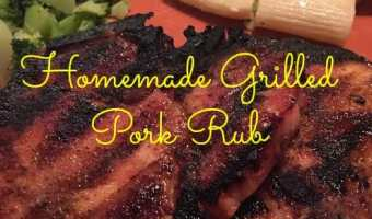 Homemade Grilled Pork Seasoning! #GrillPorkLikeASteak @SmithfieldBrand #Ad @Walmart