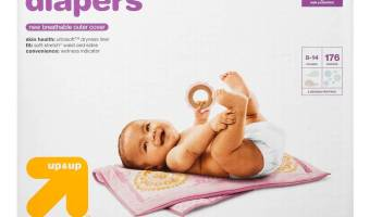 Target: GREAT Deal on Up & Up Diapers | ThisNThatwithOlivia.com