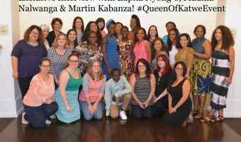 Exclusive Interview with Lupita Nyong'o, Madina Nalwanga & Martin Kabanza! #QueenOfKatweEvent