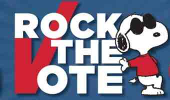 """Nikki DeLoach Promotes Peanuts """"Rock The Vote"""" Initiative – Win A 'Rock The Vote' Prize Pack #Giveaway"""
