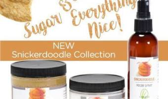 Enter to win a Snickerdoodle Collection from Lemongrass Spa | ThisNThatwithOlivia.com