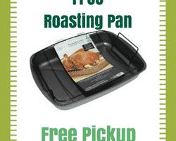 FREE Roasting Pan (after cashback)! #Thanksgiving #Free