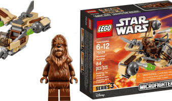 Free LEGO Star Wars Microfighters Wookiee Gunship Set (NEW TopCashBack Members Only)
