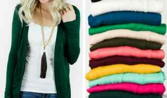 Cents of Style: Annabelle Cardigans only $17.95 Shipped!