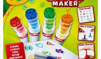 Crayola Emoji Marker Maker Review! @Crayola