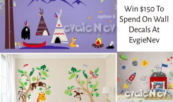 Win $150 to Evgie Wall Decals! @evgie #walldecals