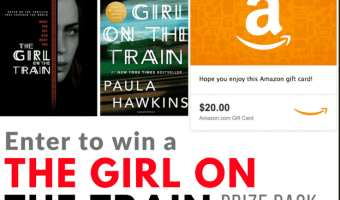 Win The Girl On The Train Prize Pack! #TheGirlOnTheTrain #TheHoppingBloggers