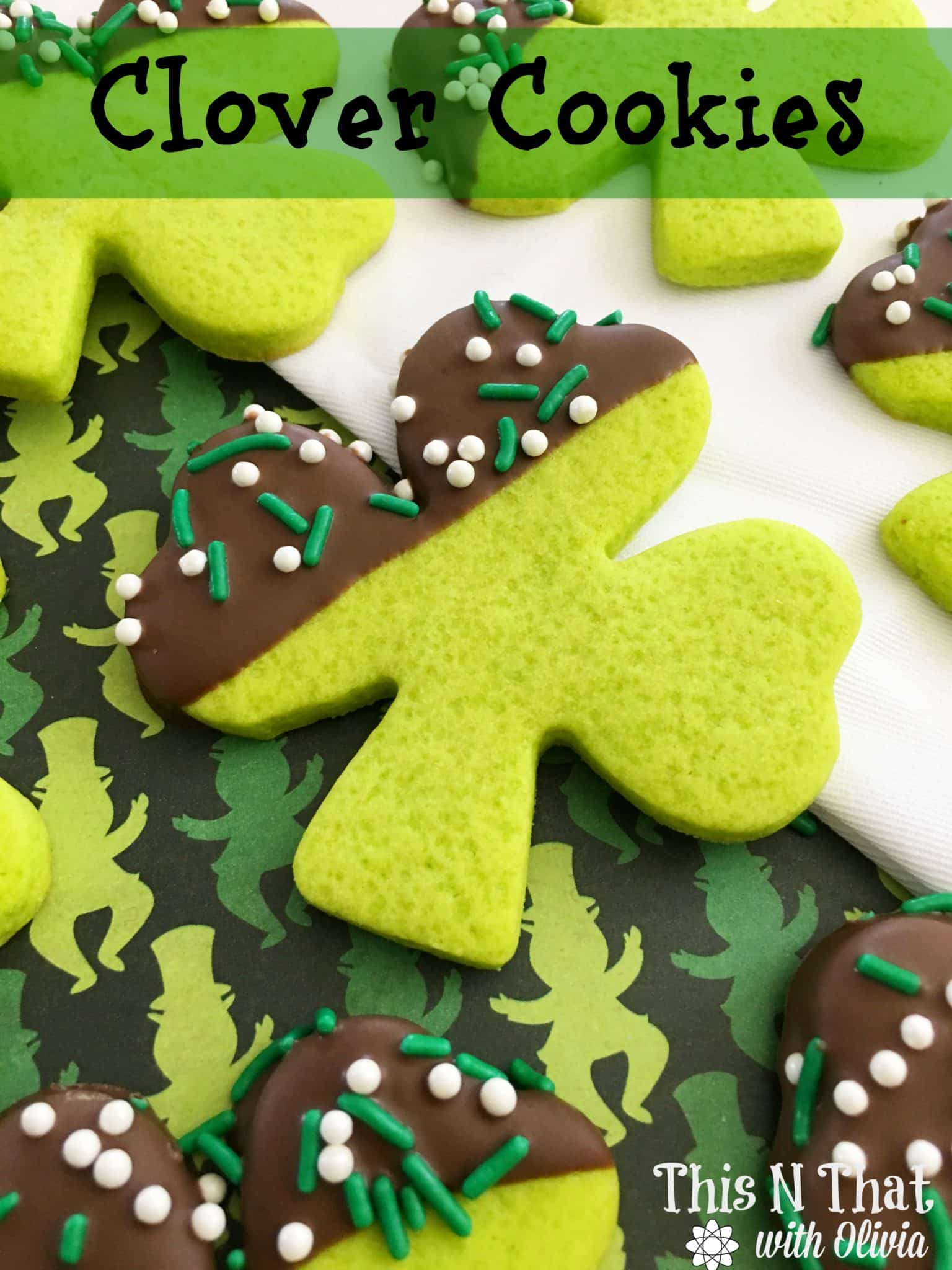 Clover Cookies | ThisNThatwithOlivia.com
