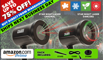 Product Review: Star Night Laser!