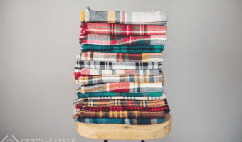 Cents of Style: 2 Plaid Blanket Scarves for $16 + FREE SHIPPING!