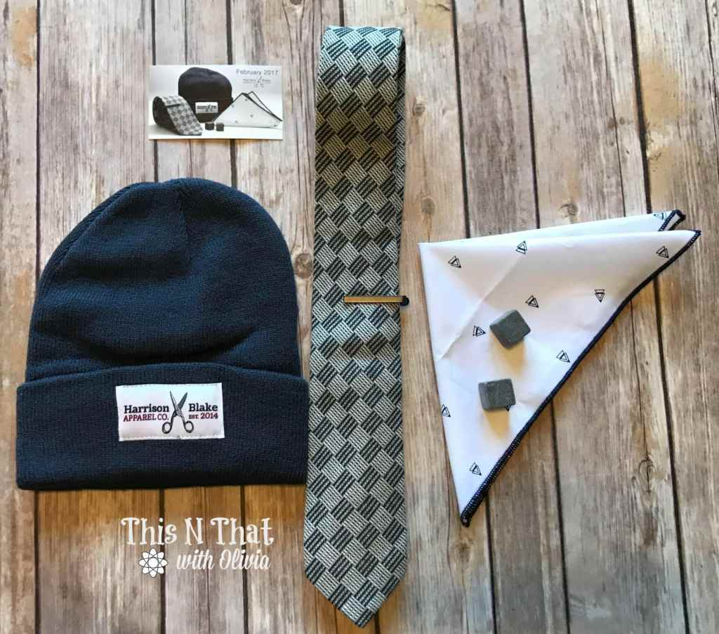 Harrison Blake Apparel Subscription Box for Him! #HarrisonBlake #TheHoppingBloggers @WearLapelPins