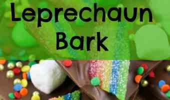 Leprechaun Bark Recipe for St. Patrick's Day