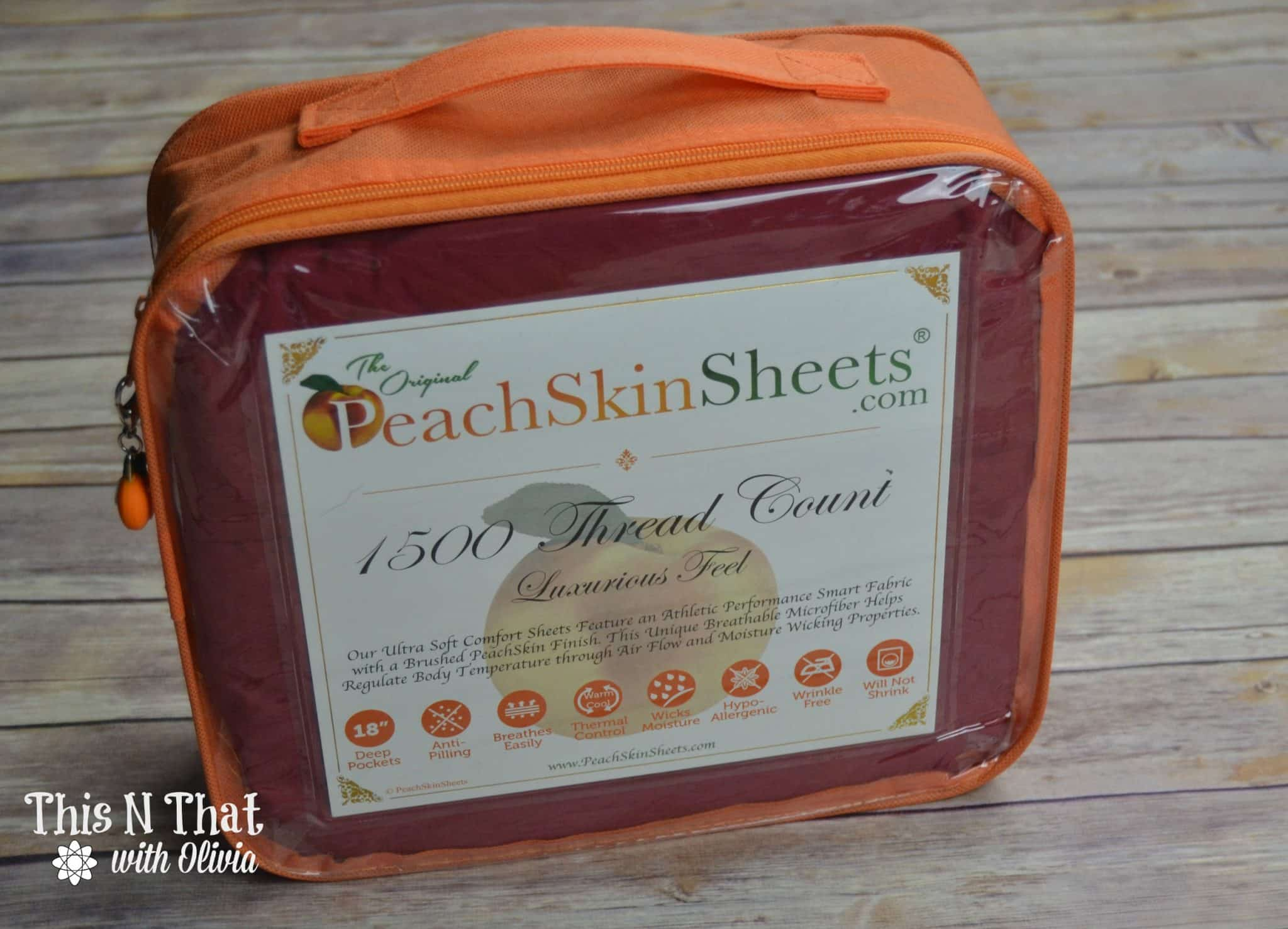 PeachSkinSheets Review + Giveaway! @PeachSkinSheets