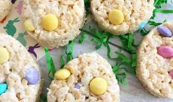 Easter Egg Rice Krispie Treats!