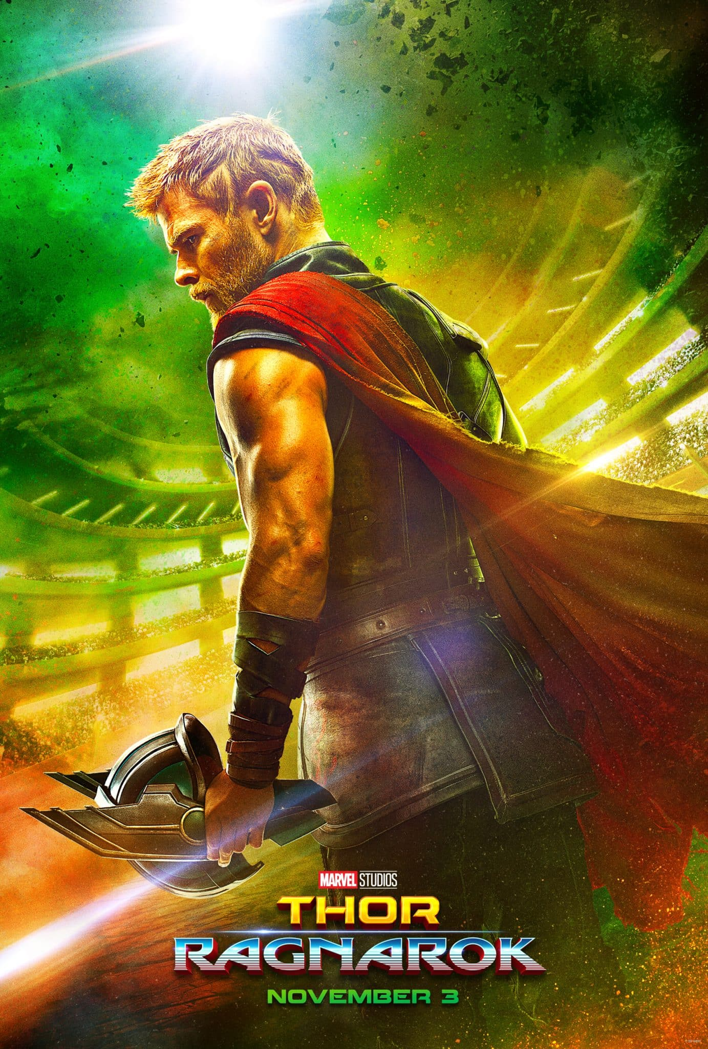 Marvel Studios' THOR: RAGNAROK - New Teaser Trailer & Poster Now Available! #ThorRagnarok