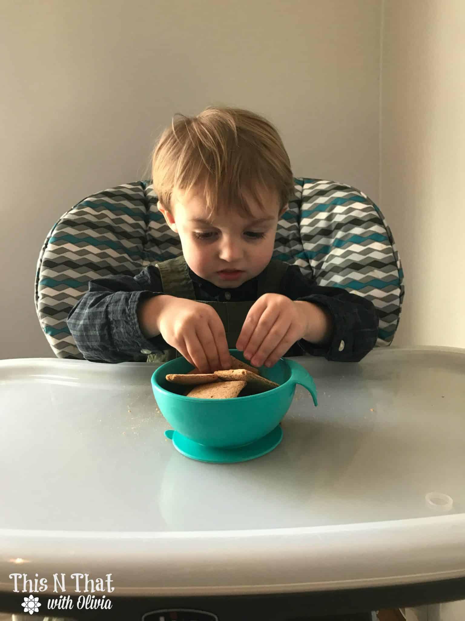 Nuby SureGrip Feeding Bowl @NubyUSA #NubyUSA