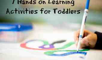 7 Hands on Learning Activities for Toddlers