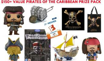 Pirates of the Caribbean Prize Pack Giveaway!