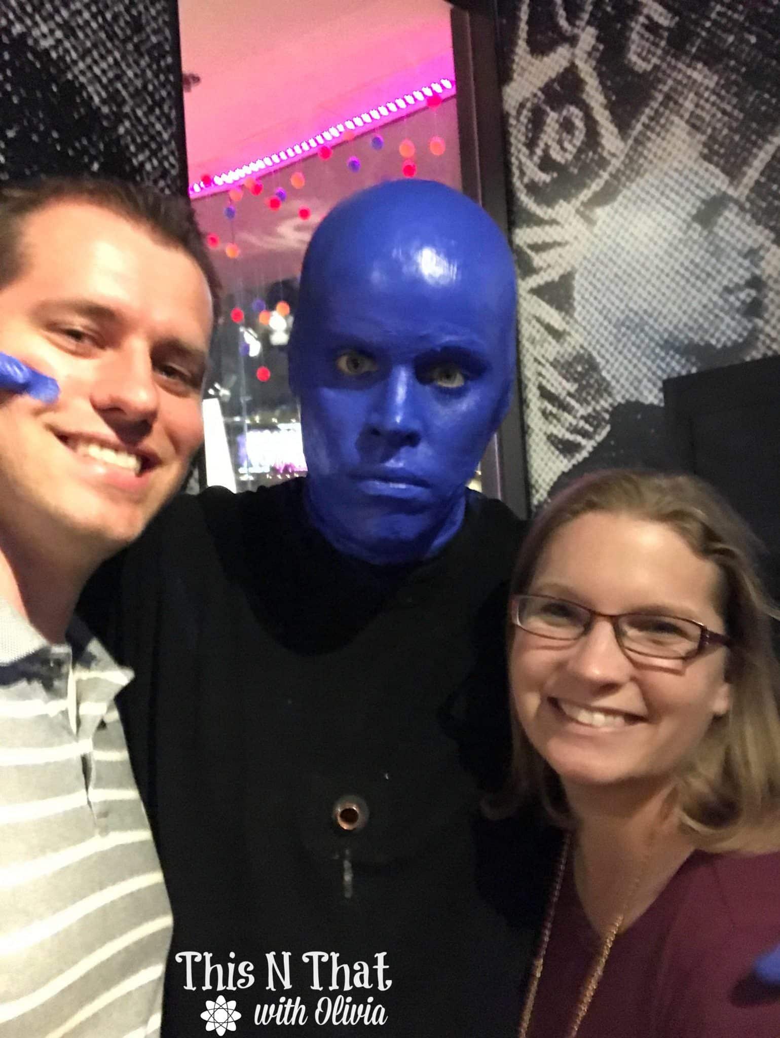 vegas fun with blue man group bluemangroup daretolive
