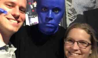 Vegas Fun with Blue Man Group! @BlueManGroup #DareToLive