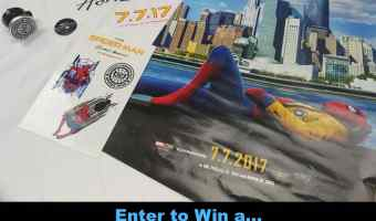 Enter to win a Spider-Man: Homecoming Prize Pack #Mrskking7