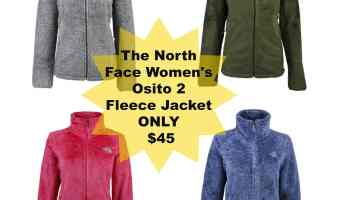 *HOT* The North Face Women's Osito 2 Fleece Jacket for only $45 (regular $99)!