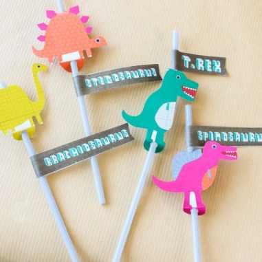 10 Dinosaur Birthday Party Ideas #Birthday #Party