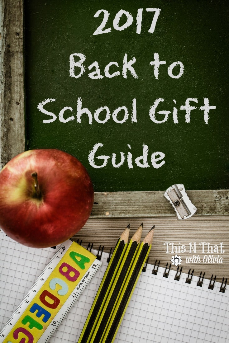 2017 Back to School Gift Guide! #BackToSchool #GiftGuide