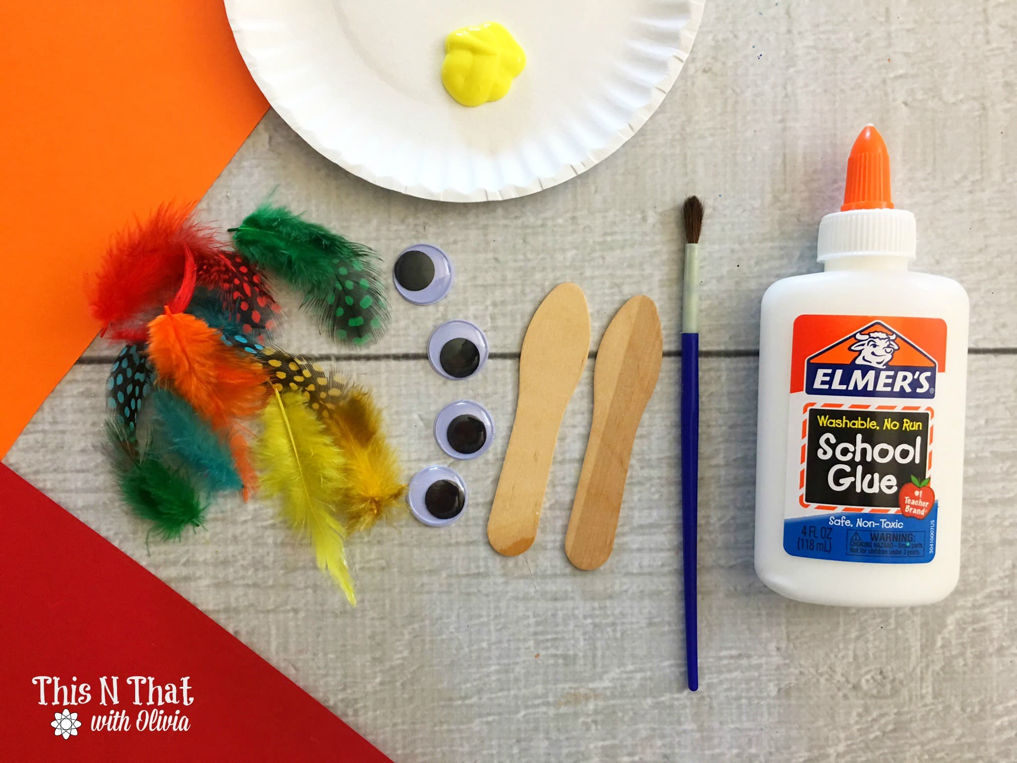 Craft Stick Turkeys #DIY #Homemade